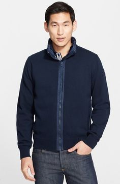 Men's Paul and Shark 'Watershed' Full Zip Sweater Jacket