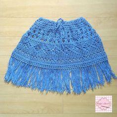 Crochet beach cover up skirt IG @craftsnreveries Fb craftsnreveries