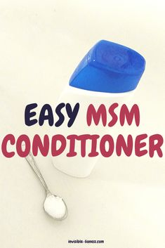 Have you heard amazing things about MSM for hair growth? Try making your own DIY conditioner with MSM - it's super easy! Homemade Conditioner, Grow Long Hair, Easy Hairstyles For Long Hair, Shiny Hair, Hair Care Tips, Hair Growth, Healthy Hair, Super Easy, Long Hair Styles
