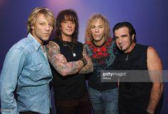 Jon Bon Jovi, Richie Sambora, David Bryan and Tico Torres of Bon Jovi