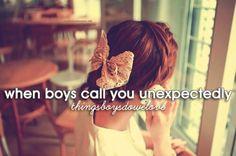 Things boys do we love.