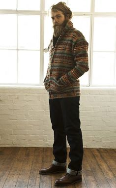 urbanemenswear:    One of the best parts of fall is wearing shawl collar knit sweaters. By PRPS Goods & Co. fall/2011