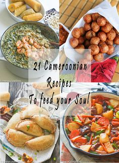 21 Traditional Cameroonian Foods To Feed your Soul 4 May, 2017 • African Recipes • Cameroonian Recipe Roundup!