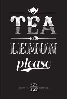 «Tram» Tearoom promotional posters by Dimis Giannakoulias, via Behance