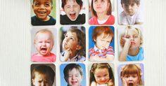 Montessori Emotinoskarten, emotion cards, Gefühle, Sprache, DIY