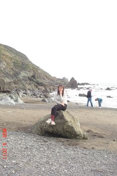 Muir Beach, San Francisco 2012  Sometimes I pose awkwardly and think it's funny, and now im embarrassed.  But the fact remains I saved all my money and flew to SF by myself senior year of college.  It changed me and my life.