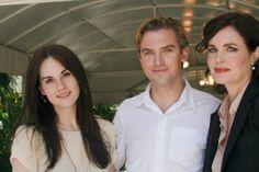 Michelle Dockery, Dan Stevens, Elizabeth McGovern #DowntonAbbey