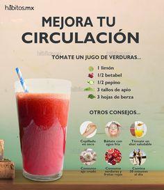 Hábitos Health Coaching   JUGO DE VERDURAS PARA MEJORAR LA CIRCULACIÓN
