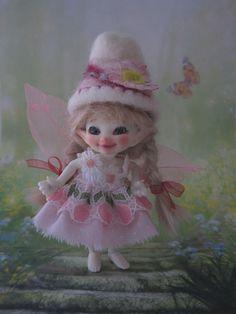 Pink Dress, Pants, Wings,Hat 4 Fairyland Real Puki Realipuki Amelia Thimble Doll Ebay dudsfordolls