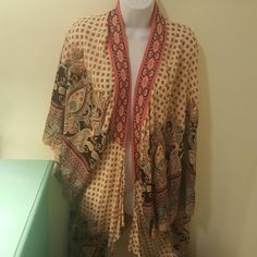 Flying Tomato Cardigan Excellent Condition   100% Rayon Flying Tomato Other