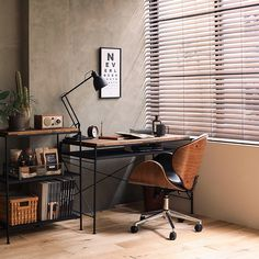 Best Tips for Creating A Minimalist Home Office - Ianiko Industrial Home Offices, Industrial House, Industrial Bedroom, Rustic Industrial, Industrial Office Desk, Industrial Scandinavian, Rustic Home Offices, Modern Offices, Home Office Setup