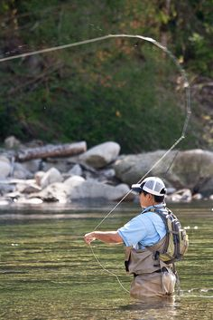Fly Fishing. Fish on! For more fly fishing info follow and subscribe www.theflyreelguide.com Also check out the original pinners/creators site and support
