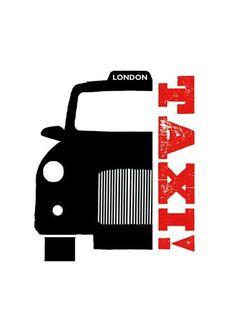 Taxi - Press Notes greeting card