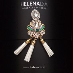 HelenaDia Ohrringe, Quasten Ohrringe, Tassel Earrings, HelenaDia Jewelry, Earrings