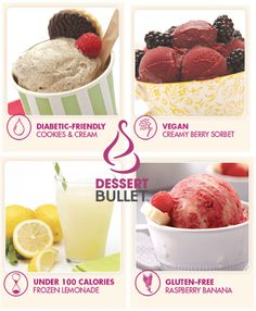 Dessert Bullet could create you a ton of yummy & eco-clean recipes! via @DiscoverSelf
