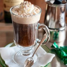 Irish Coffee Recipe - EntertainingCouple.com - The real thing.