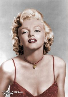 Marilyn Colourized - Worth1000 Contests