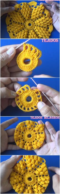 Crochet Beautiful Doily Free Pattern + Tutorial