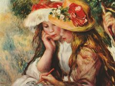 Renoir French Impressionist painting