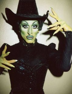 Sharon Needles serving Wicked Witch of the West realness