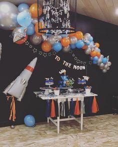 Космическая вечеринка // Space party with Meri Meri party supplies