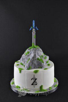 Super Legend Of Zelda Birthday Cake Ideas The Cake Boutique Funny Birthday Cards Online Elaedamsfinfo