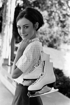 Peggy Fleming.I love watching ice skating.Please check out my website thanks. www.photopix.co.nz