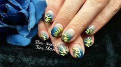 Acrylmodellage, Sonnenblumen