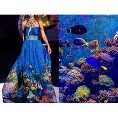 Blog PHOTO & L' ART • Zuhair Murad S/S 2009 • & • Sea Creatures. Photo by Senthil Kumar Damodaran • Dress: @zuhairmuradofficial #ZuhairMurad All collages by tag ;) #LiliyaHudyakova