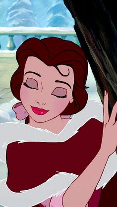 I've always loved that one piece of hair that keeps falling in Belle's face. It shows that despite all of her talents, she still isn't perfect and she's okay with that. :)