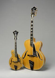 Monteleone Archtop Guitar and Mandolin, Radio City models, 1995, 2004 | Guitar Heroes | The Metropolitan Museum of Art