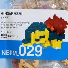 Pokemon Hiboarashi Kawada Nanoblock Nano Block NBPM-029 JAPAN ANIME FIGURE