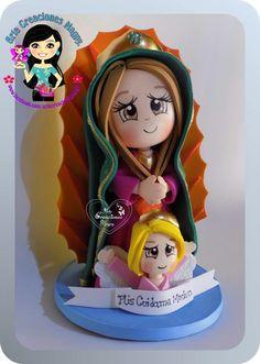 Virgen16 cm fofucha
