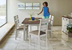Compton Walnut Extending Dining Table and Chairs #home #decor #trend