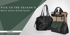 Pick Up the Season's Must Have Hand Bags! http://goguava.com/bag/women/all-handbags   #Women #Shopping #Deals #Handbags