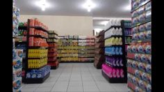 Supermercados e Lojas(layout e Setorização). Dna, Aurora, Layout, Shops, Convenience Store, Page Layout, Northern Lights, Gout