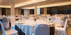 Eventos y congresos | Hotel Ciudad de Móstoles  Para eventos o celebraciones más multitudinarias, el salón Gran Forum es su mejor elección.