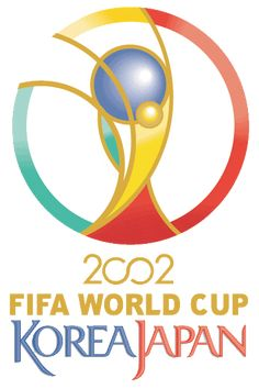 World Cup Tournament Logos - Graphic Design Inspiration 2002 World Cup, Fifa World Cup, World Cup Logo, Psg, Graphic Design Inspiration, South Korea, First Time, Countries, Soccer
