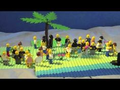 Founder Effect, Bottle Necking, and Genetic Drift explanation using legos.