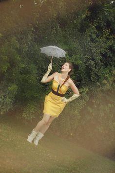 Robe moderne inspirée de l'exploratrice Jane : Robe par kotka-utopia