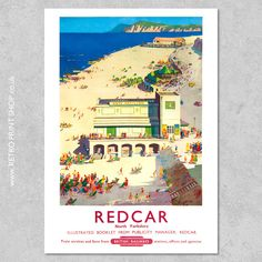 Railway Posters, Travel Posters, Booklet, Poster Prints, British, Retro, Illustration, Vintage, Shopping