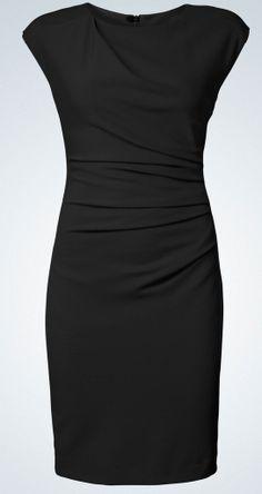 Mi Stretch Dress Black, sort kjole (Tiger of Sweden)