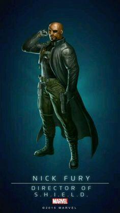 Nick Fury - Director of S.H.I.E.L.D