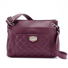 Rosetti Roxanne Fortress Quilt Crossbody Bag