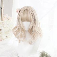 Kawaii Clothes J-fashion Harajuku Cute Fashion Clothing Online Store Kawaii Hairstyles, Pretty Hairstyles, Wig Hairstyles, Anime Wigs, Anime Hair, Kawaii Wigs, Lolita Hair, Cute Hair Colors, Hair Reference
