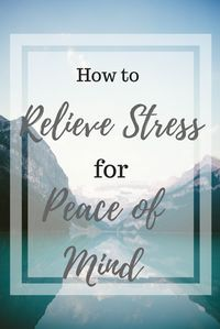 Stress is common for everyone, but that doesn't mean we have to tolerate it. Learn how to get instant stress relief for your own peace of mind. Relieve stress with one simple stress relief tip at: theholisticesquire.com/stress-relief/