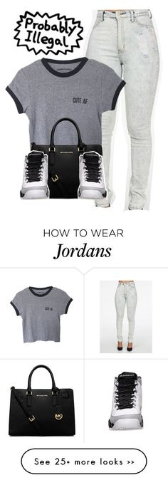 Untitled #973 by lovejaycii on Polyvore featuring MICHAEL Michael Kors Clothing, Shoes & Jewelry : Women : Shoes : Fashion Sneakers : shoes  http://amzn.to/2kB4kZa