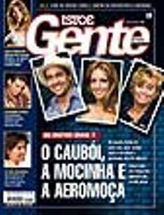 Big Brother Brasil, Manuela Saadeh - Isto É Gente Magazine Cover [Brazil] (22 July 2002)