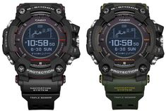 G-Shock Rangeman GPR-B1000 GPR-B1000-1 GPR-B1000-1B Survival Watch with GPS and Sensors