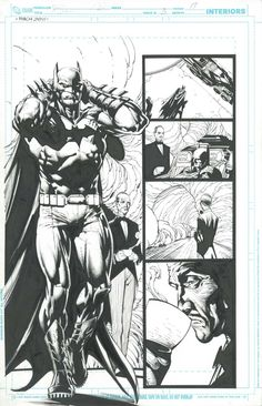 Batman: The Dark Knight #3, Page 17 by David Finch & Richard Friend